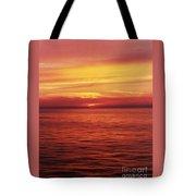 Golden Bermuda Tote Bag