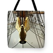 Golden Bird Tote Bag