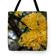 Golden Blooms Two Tote Bag