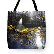 Golden Branch Tote Bag