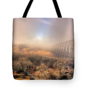 Golden Bridge Tote Bag