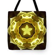 Golden Buddha Star Tote Bag