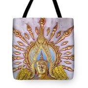 Golden Buddha Statue Tote Bag