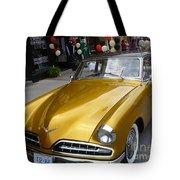 Golden Car Tote Bag