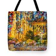 Golden Castle Tote Bag