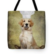 Golden Chef Tote Bag by Susan Candelario