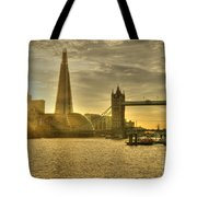 Golden City Tote Bag