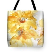 Golden Clematis 1 Tote Bag