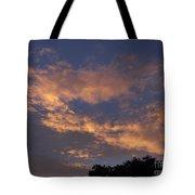 Golden Cloud Sunset Tote Bag