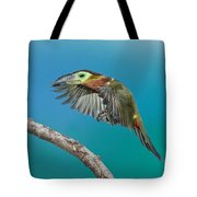 Golden-collared Toucanet Tote Bag