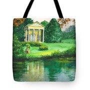 Golden Cottage Tote Bag