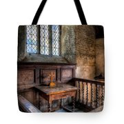 Golden Cross Tote Bag by Adrian Evans