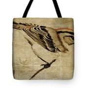 Golden-crowned Kinglet Tote Bag by Carol Leigh