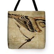 Golden-crowned Kinglet Tote Bag
