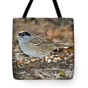 Golden-crowned Sparrow Tote Bag