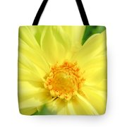 Golden Daisy Tote Bag