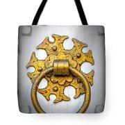 Golden Door Knocker Vignette Tote Bag