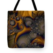 Golden Dream Of Fossils Tote Bag