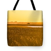 Golden End Of Day  Tote Bag