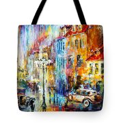 Golden Evening Tote Bag
