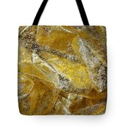Golden Fabric Tote Bag