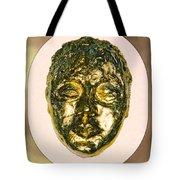 Golden Face From Degas Dancer Tote Bag