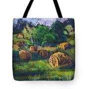 Golden Fields Of Door County Tote Bag