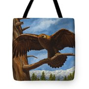 Golden Flex Tote Bag by Crista Forest