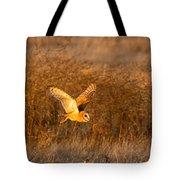 Golden Flight Tote Bag