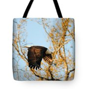 Golden Flight In April Tote Bag