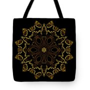 Golden Flower Of The Night Tote Bag