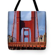 Golden Gate Bridge Tote Bag by Adam Romanowicz