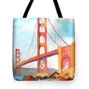 Golden Gate Bridge 3 Tote Bag