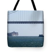 Golden Gate Bridge 3 Tote Bag