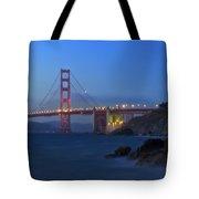 Golden Gate Bridge After Sunset Tote Bag