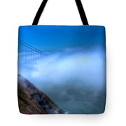 Golden Gate Bridge In The Fog Tote Bag