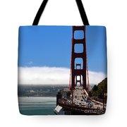Golden Gate Bridge Looking South Tote Bag