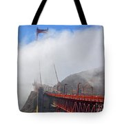Golden Gate Bridge San Francisco California Tote Bag