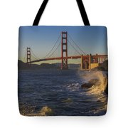 Golden Gate Bridge Sunset Study 2 Tote Bag