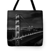 Golden Gate Evening- Mono Tote Bag