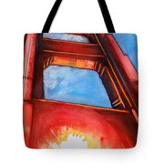 Golden Gate Light Tote Bag by Rene Capone