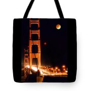 Golden Gate Night Tote Bag