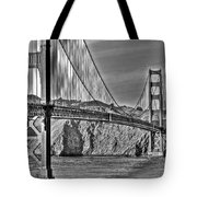 Golden Gate Over The Bay 2 Tote Bag