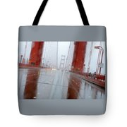 Golden Gate Rain Tote Bag