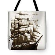 Golden Gate Tall Ship Circa 1905 Tote Bag