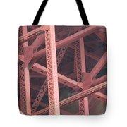 Golden Gate's Skeleton Tote Bag