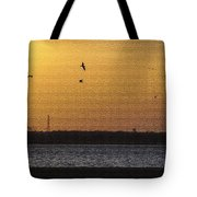 Golden Glow Tote Bag