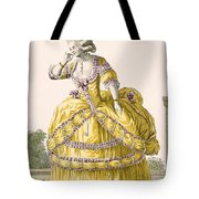 Golden Gown, Engraved By Dupin, Plate Tote Bag