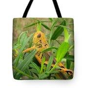 Golden Grasshopper Tote Bag