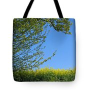 Golden Growing Season Tote Bag